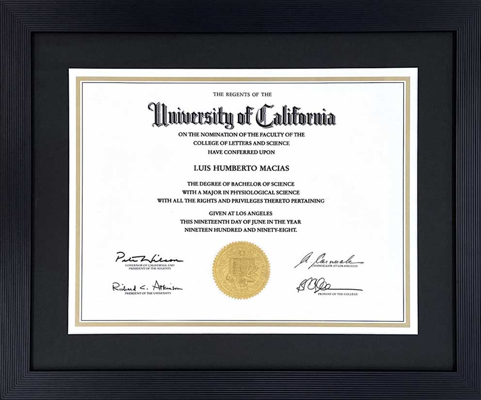 UCLA - Bachelor of Science Degree